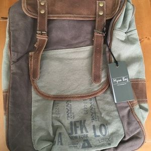 Myra Men's Traveller's Vintage Backpack